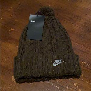 Nike Green Beanie